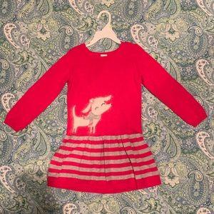 Gymboree... Girl's 4T Pink Sweater Dress(Like New)